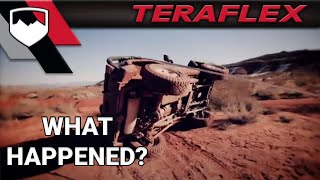 Video TeraFlex Crash: JK PreRunner Jeep Wreck download MP3, 3GP, MP4, WEBM, AVI, FLV Desember 2017