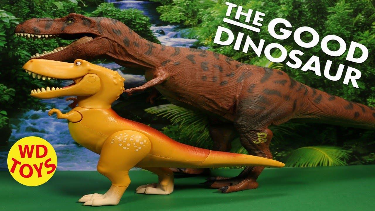 disney the good dinosaur ramsey extra large figure pixar unboxing