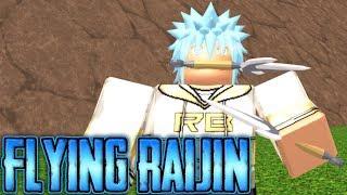 TENGO LA TÉCNICA DE RAIJIN/THUNDER GOD FLYING EN NINDO RPG: ¡¡¡¡¡A PARTIR!! | Roblox