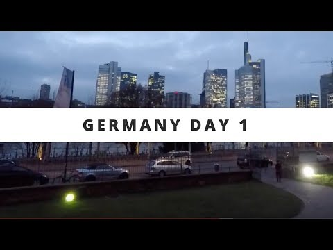 Flying into and Hotel Tour! Germany Day 1 ~