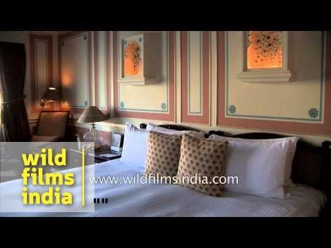 Royal bedroom of Taj Lake Palace - Udaipur