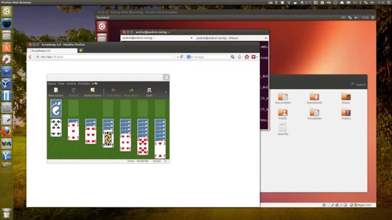 GTK+3 With Broadway (HTML5) Backend Enabled In Ubuntu