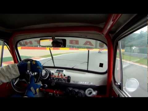 Abarth 1000 TCR Onboard Spa Francorchamps 2012