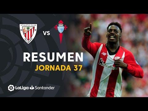 Resumen de Athletic Club vs RC Celta (3-1)