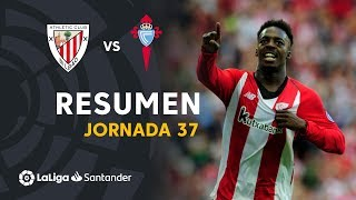 Resumen de Athletic Club vs RC Celta (3-1)