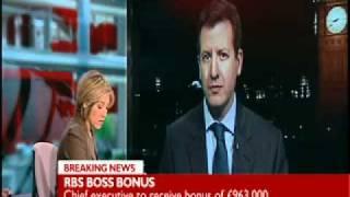 Royal Bank of Scotland Boss Gets 1 Million Pounds Bonus in Shares