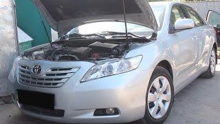 Установка ГБО на Toyota Camry 2008 2.4 в Одессе на