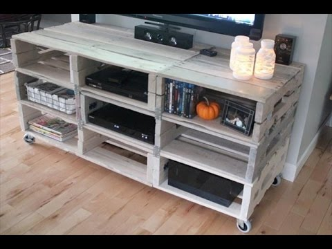tv tisch aus europaletten tv tisch selber bauen youtube. Black Bedroom Furniture Sets. Home Design Ideas