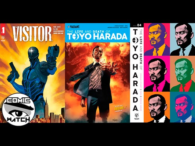 Valiant Watch E005 Visitor #1 and The Life and Death of Toyo Harada #1-6