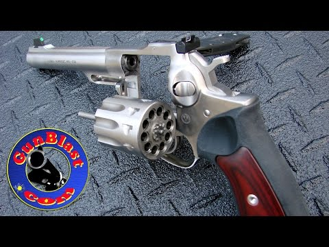 Shooting the NEW Ruger Ten-Shot 22 Long Rifle GP100 Revolver
