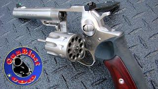 Shooting the NEW Ruger Ten-Shot 22 Long Rifle GP100 Revolver - Gunblast.com