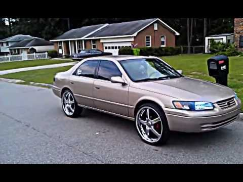 Rims For 2001 Honda Accord 1997 Camry on 22s - YouTube