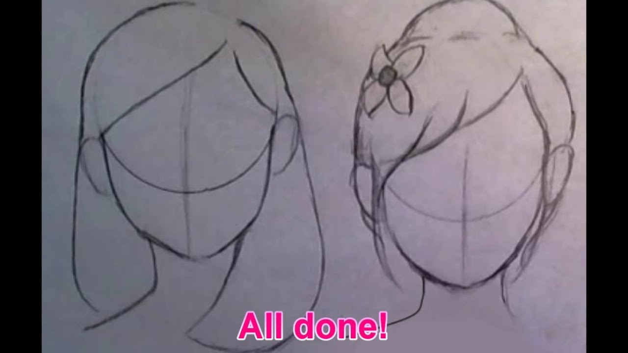 Quick Tips How To Draw Cute Hairstyles For BEGINNERS Part 1