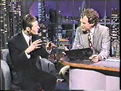 Crispin Glover on Letterman  3rd Appearance 1990  Good quality