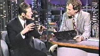 Crispin Glover on Letterman - 3rd Appearance (1990) - Good quality