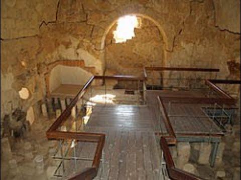 King Herod's Masada, Israel - Why King Herod Built A Roman Bath (a Sauna) In The Hot Desert?