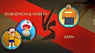 Shadow Fight 2 Doraemon & Nobita Vs Gian