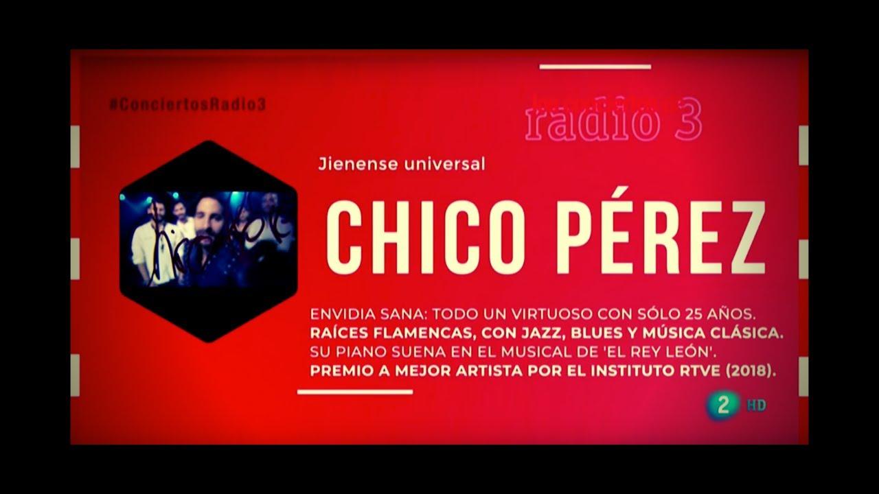 Chico Pérez en Los Conciertos de Radio 3 (La 2)