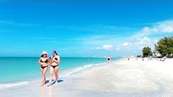 Sunset Beach, Treasure Island, Florida | Walking Tour