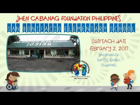 San Bonifacio Elementary School Outreach Program February 2, 2017