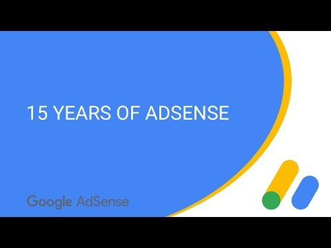 15 years of AdSense