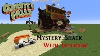 MYSTERY SHACK w/ INTERIOR!!! - Minecraft World Download