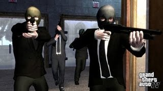 GTA IV - Bank Robbery (Mission: Three Leaf Clover) [HD](Robbed the bank :) If you have enjoyed this video, please like and share the video, aswell as subscribe to me. Thanks a lot., 2013-04-29T19:30:31.000Z)