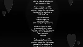 Hanya rindu cover rizki ridho (lirik)