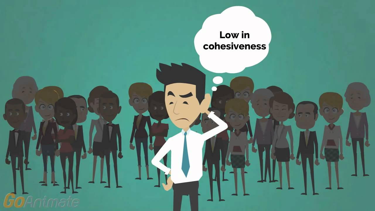 group cohesion Explore the importance of team cohesion and its possible relationship to role   scientists to believe that it is the most important small group variable (lott & lott,.