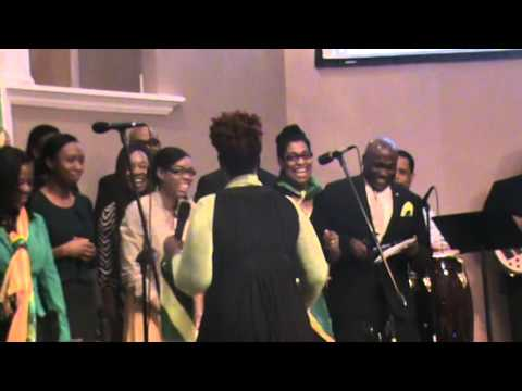 First Church - Caribbean choir