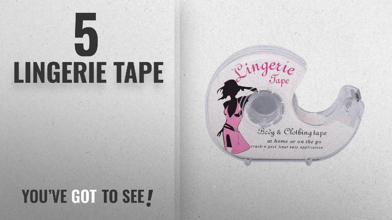6de61699bcd Top 10 Lingerie Tape  2018   Body Double Sided Tape