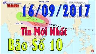 Tin Thời Sự Hôm nay (6h30 - 16/9/2017): Hậu bão số 10, nước lũ miền Trung đang lên rất nhanh