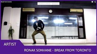 Break from toronto - Ronak Sonvane