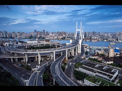 Shanghai! Nanpu Bridge 2017! HD!