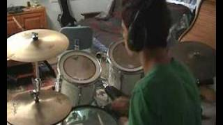 Positive Tension - Bloc party drum cover by trout