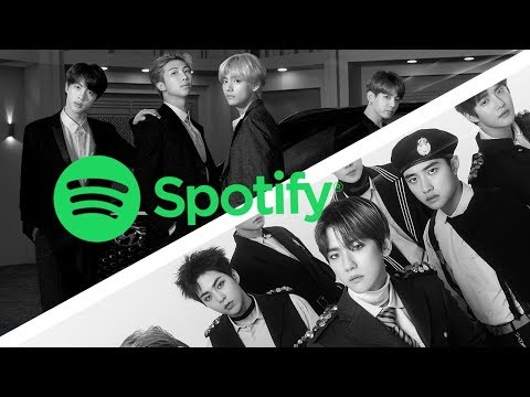 MOST STREAMED KPOP SONGS OF 2018 ON SPOTIFY | NOVEMBER