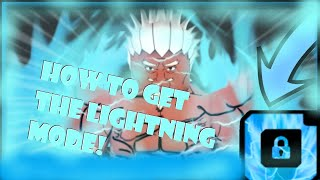 HOW TO GET THE RAIKAGE LIGHTNING MODE!! ROBLOX NRPG-BEYOND