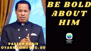 RHAPSODY OF REALITIES DAILY DEVOTIONAL REVIEW||BE BOLD ABOUT HIM||17TH OCTOBER 2021