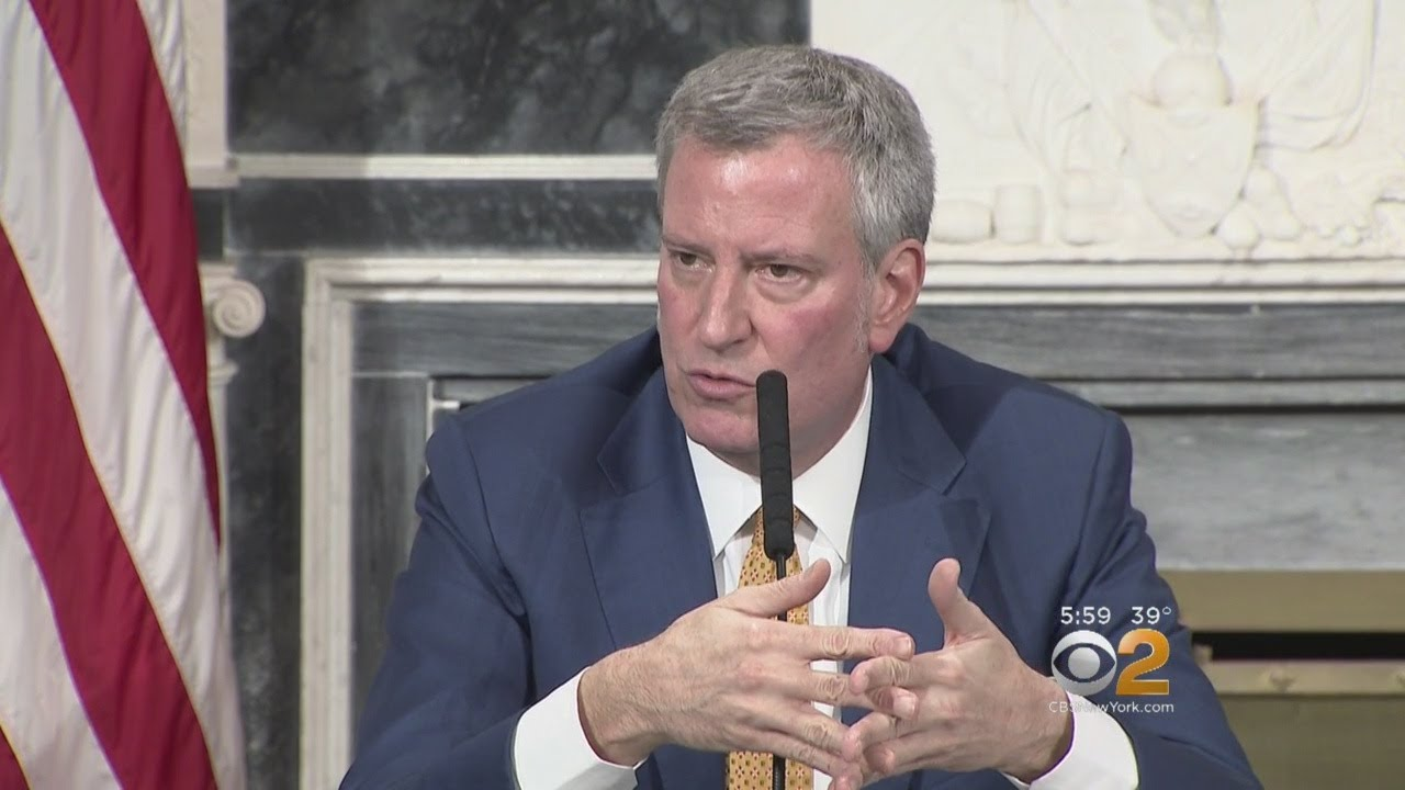 De Blasio Talks School Safety