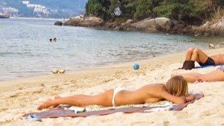 Tri Trang Beach Phuket Thailand