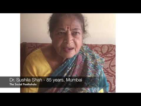 85 year old lady attends a session on basic phone functions | The Social Paathshala