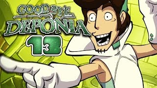 GOODBYE DEPONIA [HD+] #013 - Disco Pogo ★ Let's Play Goodbye Deponia