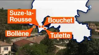 Zoom sur les premières bouteilles de l'AOP Suze-la-Rousse