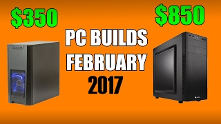 Gaming PC Builds of the Month - February 2017