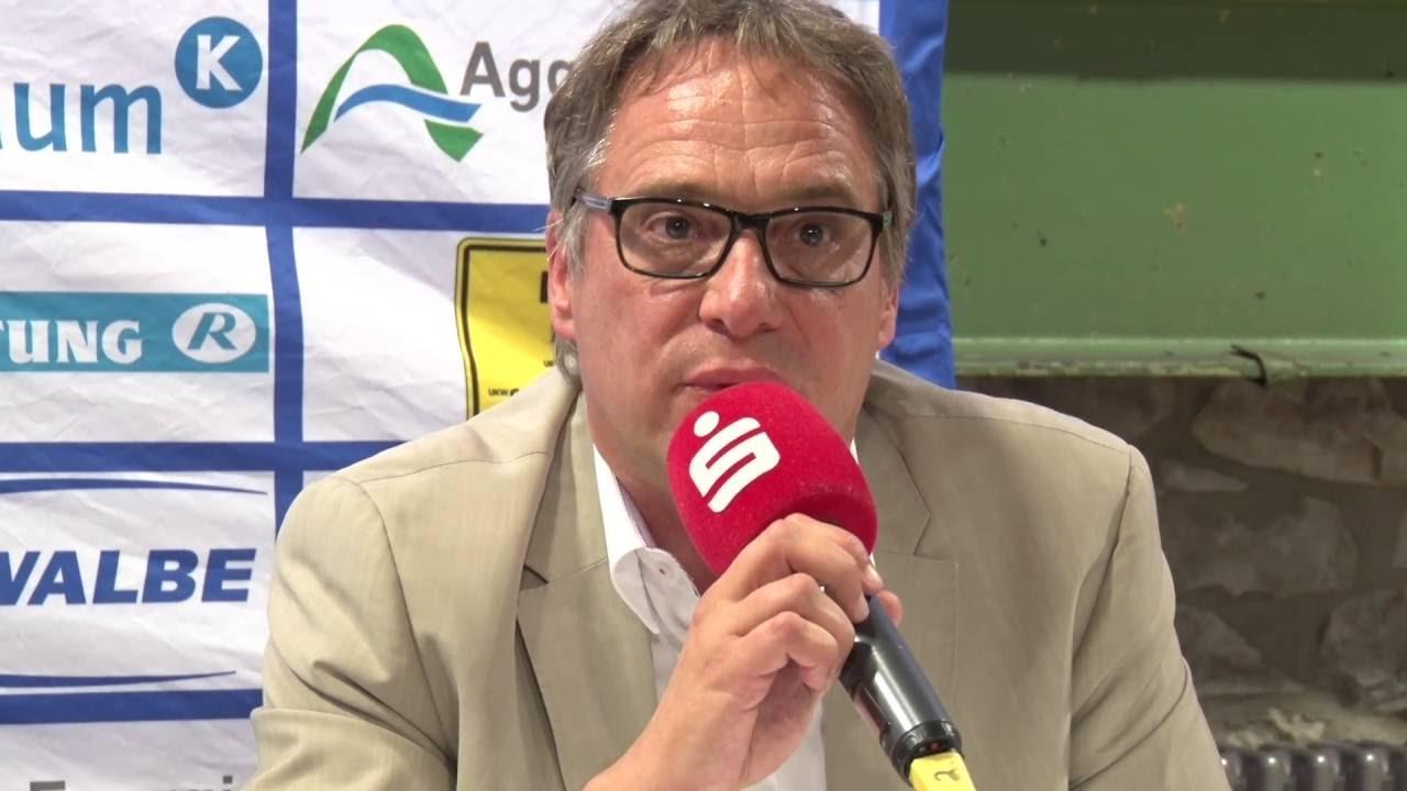 Pressekonferenz nach dem Sieg beim VfL Gummersbach