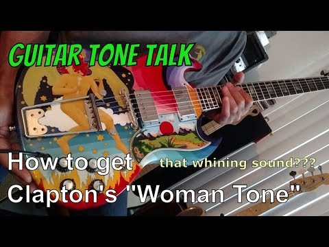 "Woman Tone - Playing the Fool  (spoof of Eric Clapton interview) ""The Fool"" Guitar - best guitar amp"