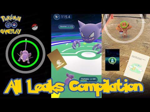 Pokemon Go All Leaks Compilation