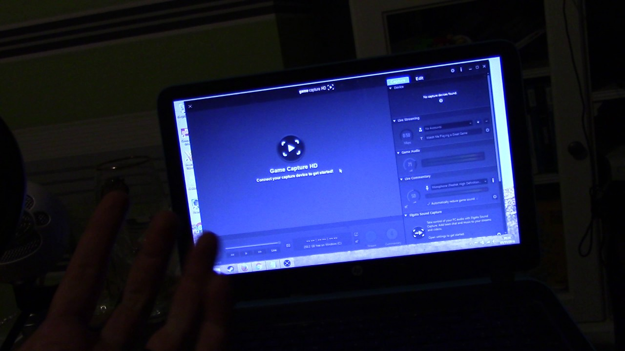 (I need some help!) Elgato Game Capture HD problem - No capture devices  found