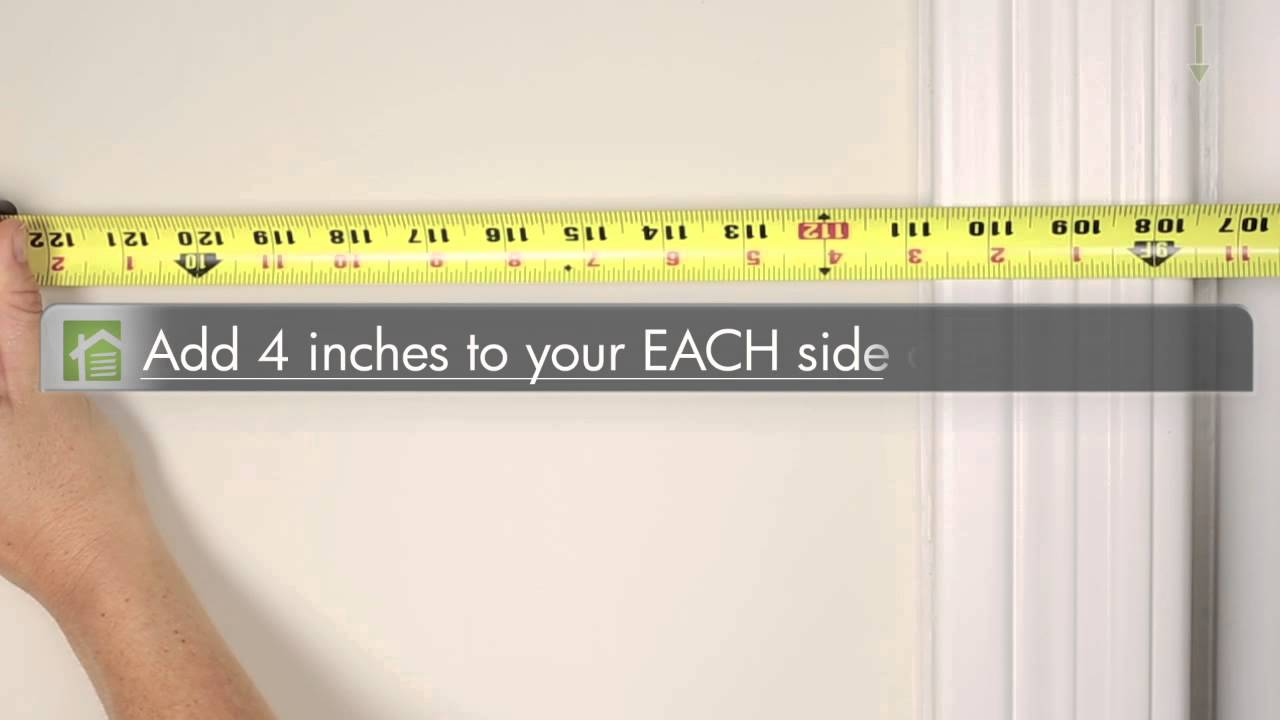 How To Measure Your Window For Vertical