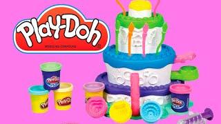 Fábrica De Bolos Cake Mountain Play-doh Sweet Shoppe Playset